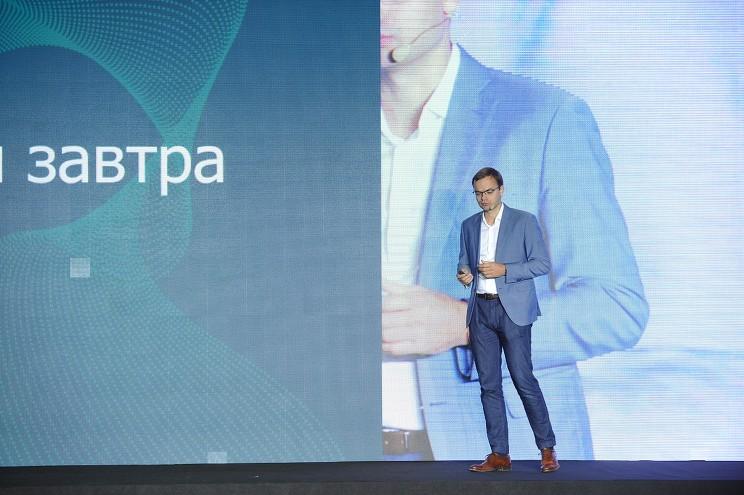 Региональный руководитель Veeam в России, СНГ, Грузии и на Украине Владимир Клявин остановился на теме будущего управления данными