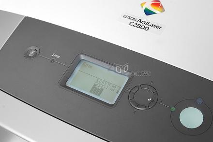 Epson Aculaser C2800 также один из наиболее доступных цветных лазерников