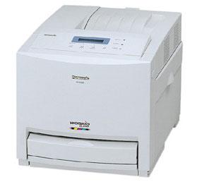 В принтере Panasonic KX-CL510 учтено, что желтая краска расходуется больше и ее картридж вместительнее остальных