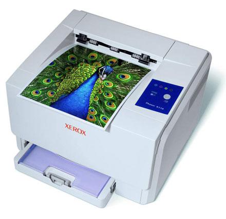 Цветной лазерный принтер Xerox  Phaser 6110 вероятно один из самых бюджетных в своем классе