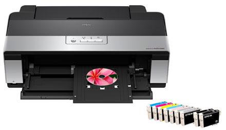 В принтере Epson StylusPhoto R2880 имеет 8 (!!!) чернильниц, по две на каждый цвет CMYK