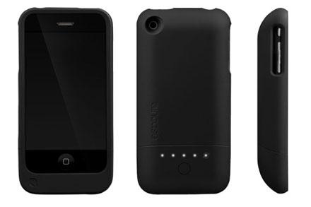 Новый футляр с дополнительной батареей позволит более чем вдвое увеличить срок работы аккумулятора iPhone 3G