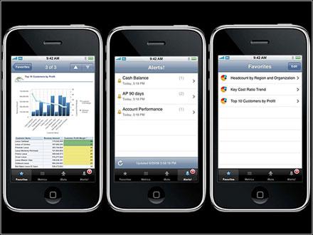 Вслед за Oracle интерес к iPhone стала проявлять и SAP