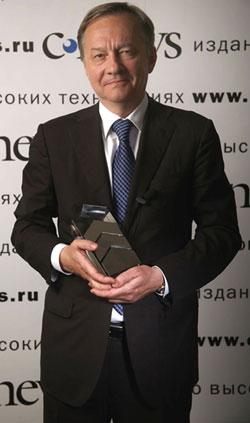 Сергей Калин, получивший в 2007 г. премию CNews Awards за модернизацию ИТМиВТ и успешную коммерциализацию его разработок, сумел акционировать институт