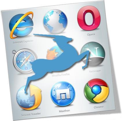 Microsoft планирует браузер Gazelle уже в августе 2009 г.