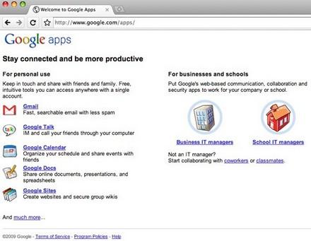 Веб-приложения Google станут основой для будущей Chrome OS