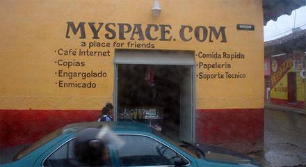 Позиции MySpace постепенно ослабевают