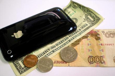 При использовании iPhone операторы несут убытки, пользователи - расходы, а Apple - прибыль