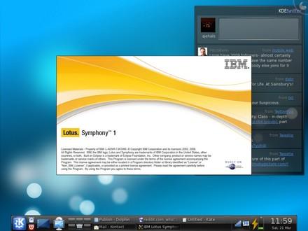 IBM «за» открытое ОС и Lotus Symphony, в том числе