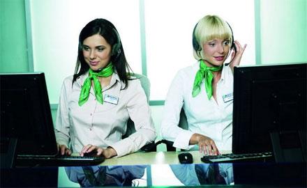 В контакт-центре «Мегафона» в Туле работатют, в основном, женщины