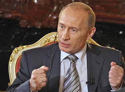 Премьер-министр <b>Владимир Путин</b> подписал федеральную целевую программу «Развитие телерадиовещания в2009–15гг.»