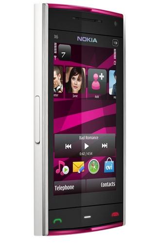 Сегодня компания Nokia представила младшего брата известного сенсорного смартфона Nokia X6.