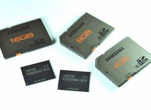 Новые чипы и карты памяти