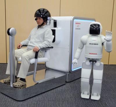 Японцы научат роботов понимать мысли