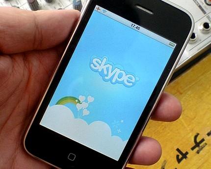 Благодаря Skype 2.0 владельцы iPhone получили  возможность звонить по 3G