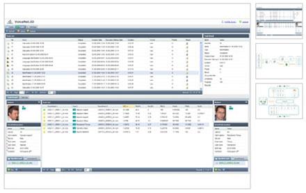 Так выглядит интерфейс системы идентификации преступников по голосу, поставленной ЦРТ в полицию Мексики