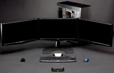 Nvidia вывела в свет технологию 3D Vision Surround border=