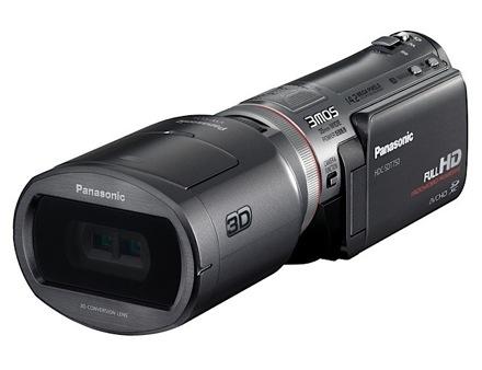 Для 3D-съемки камере Panasonic HDC-SDT750 нужен оптический блок