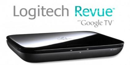Logitech начала поставки ТВ-приставки Google TV=