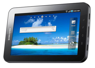 Планшет Samsung Galaxy Tab уже приобрели 1 млн. жителей планеты.