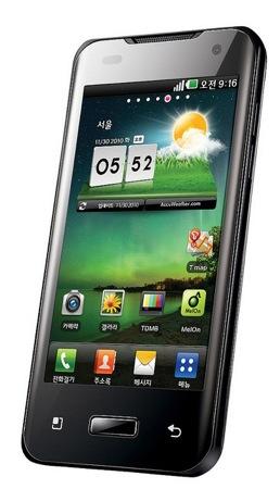 LG Optimus 2X - первый смартфон с 2-ядерным процессором