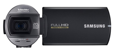 Samsung представила любительскую Full HD видеокамеру=