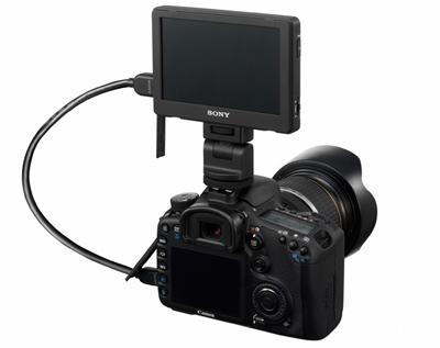 Sony разработала съемный ЖК-монитор для цифровых фотокамер=