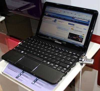 Samsung обновляет конфигурации двухъядерных нетбуков=