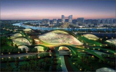Китайский Эко-сити будет первым в мире самодостаточным городом