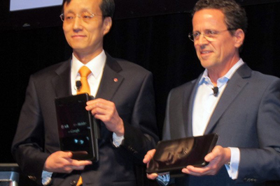 LG сделает 3D-планшет=