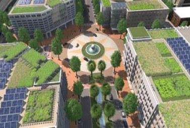 Новый город расположится на площади в 110 га в городе Пафос и будет иметь уникальную интеллектуальную систему сбережения энергии и воды, а также