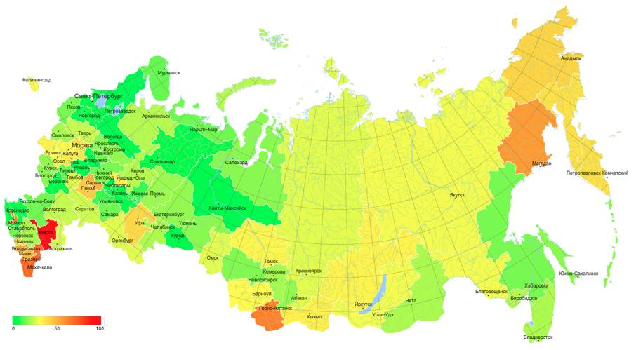 карту с ботами