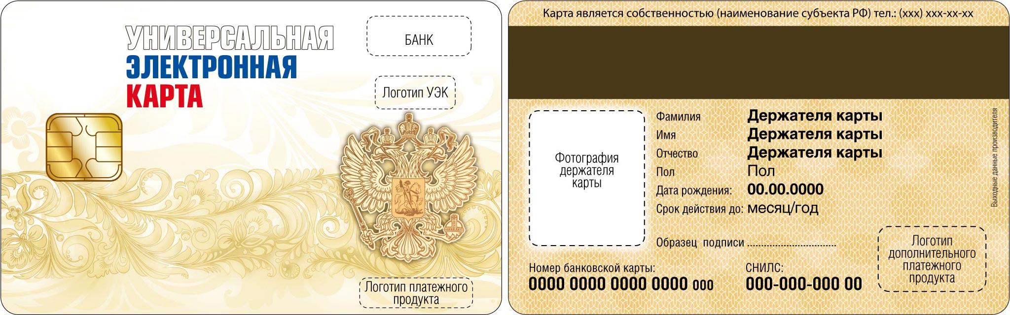 Универсальные карты россиян