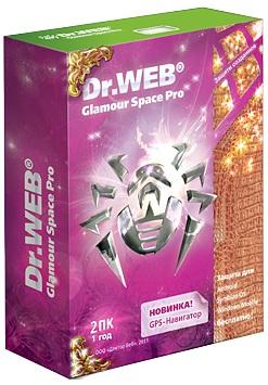 Новый коробочный продукт Dr.Web Glamour Space Pro