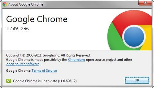 Новая версия браузера Google Chrome 11 получила новый логотип и возможность ввода текста посредством устной речи