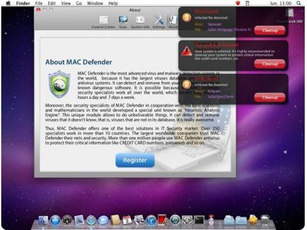 Mac Defender наделал много шума, и вот теперь его связывают с русскими