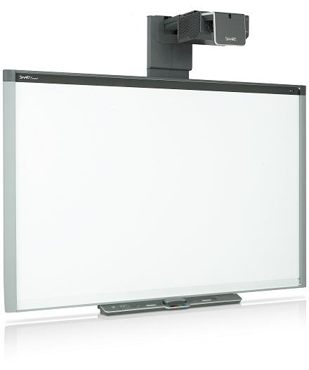 Интерактивная доска Smart Board 800i, оснащенная проектором Smart UF75