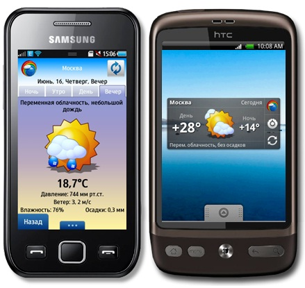 Модификация Bada В Android
