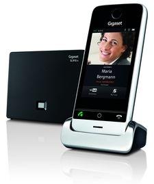 Gigaset представил домашний телефон c cенсорным экраном