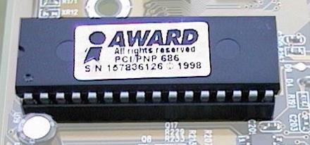Trojan.Bioskit.1 нацелен на BIOS производства компании Award