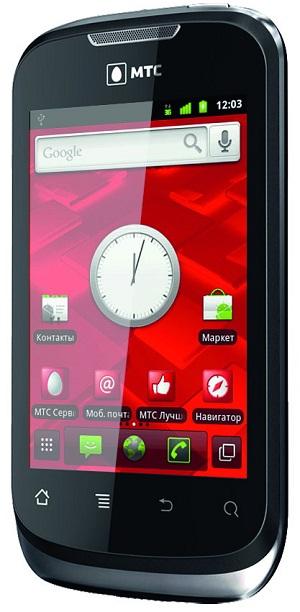 МТС представила новый смартфон на Android 2.3