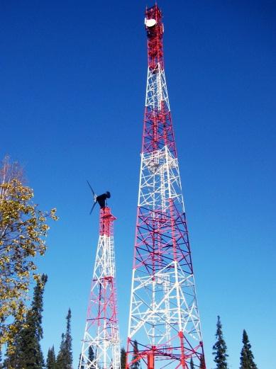 """""""МегаФон» начал использовать ветрогенераторы дляэлектропитания базовых станций N22G"""