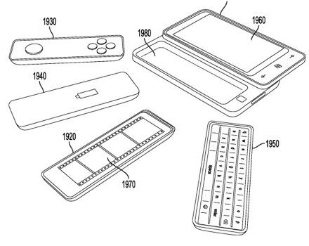 Microsoft предлагает расширить функциональность мобильников за счет сменных модулей