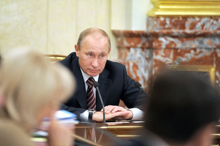Владимир Путин рассказал о намерении премировать продвинутые регионы
