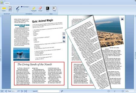Интерфейс платформы Active Textbook