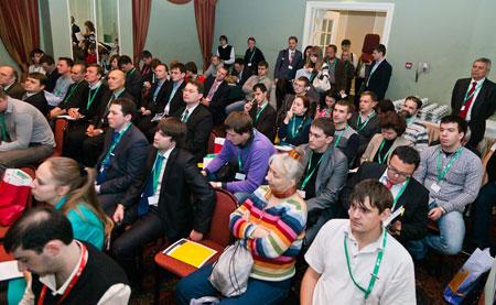 Аудитория розничной секции CNews FORUM во многом поддержала Дмитрия Потапенко
