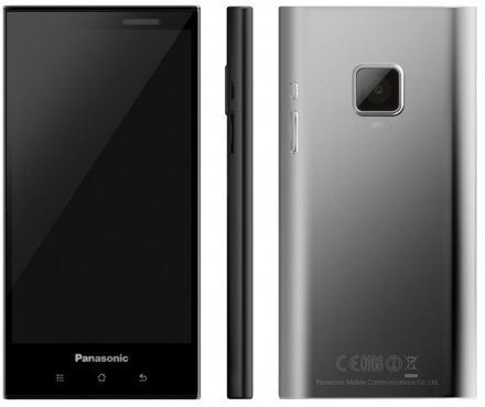 Прототип первого смартфона Panasonic для глобального рынка
