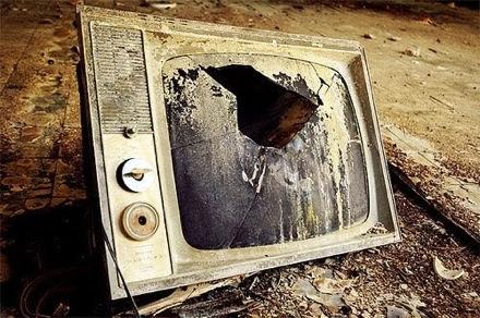 Телевизоры отправляются на свалку истории
