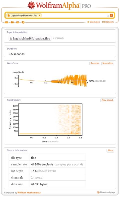 Функция анализа аудиофайла