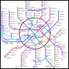 """Сотовая связь в московском метро у всех операторов  """"большой тройки """" работает практически на каждой станции."""